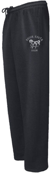 Brookhaven Farm Pennant Youth and Adult Open Bottom Sweatpants