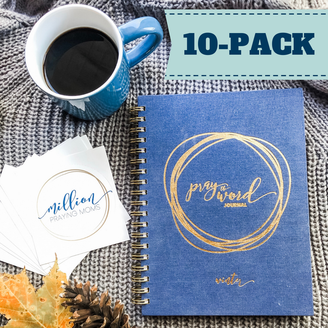 {10-Pack} Pray the Word Journal: Winter 2020