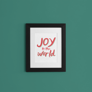 Joy to the World Printable 8x10 {PDF}