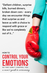 How to Control Your Emotions, So They Don't Control You: A Mom's Guide to Overcoming (Digital Download)