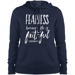 Fearless-Faithful Sport-Tek Ladies' Pullover Hooded Sweatshirt