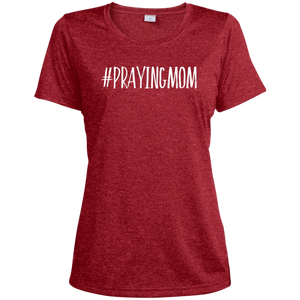 #PrayingMom Sport-Tek Ladies' Heather Dri-Fit Moisture-Wicking T-Shirt