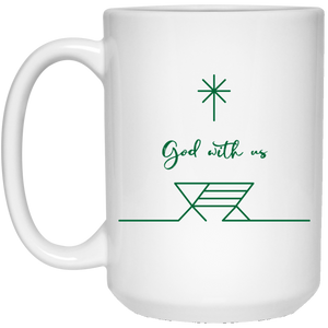 {LIMITED EDITION} God With Us 15 oz. White Mug