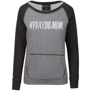 #PrayingMom Holloway Junior's Vintage Terry Fleece Crew