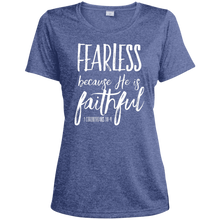 Fearless-Faithful Sport-Tek Ladies' Heather Dri-Fit Moisture-Wicking T-Shirt