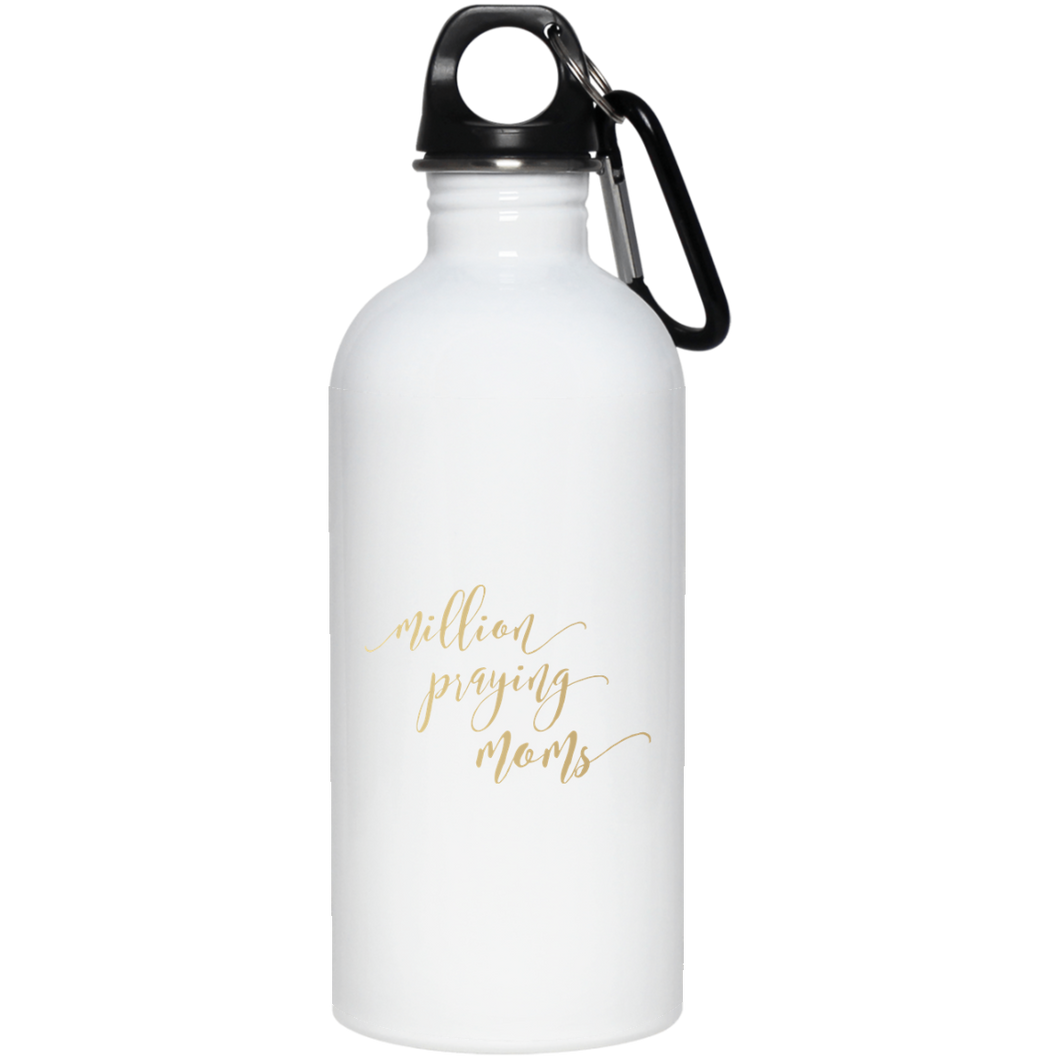 Million Praying Moms Stainless Steel Water Bottle