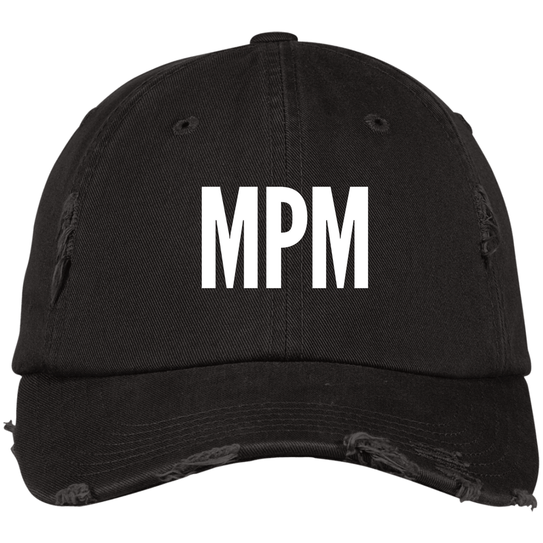 MPM Distressed Dad Cap
