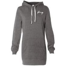 """She Prays"" Women's Hooded Pullover Dress"