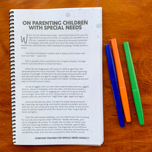 Everyday Prayers for the Special-Needs Mom - A 20-day Prayer Journal {PAPERBACK}
