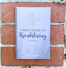Everyday Prayers for ThanksLiving {PAPERBACK JOURNAL}