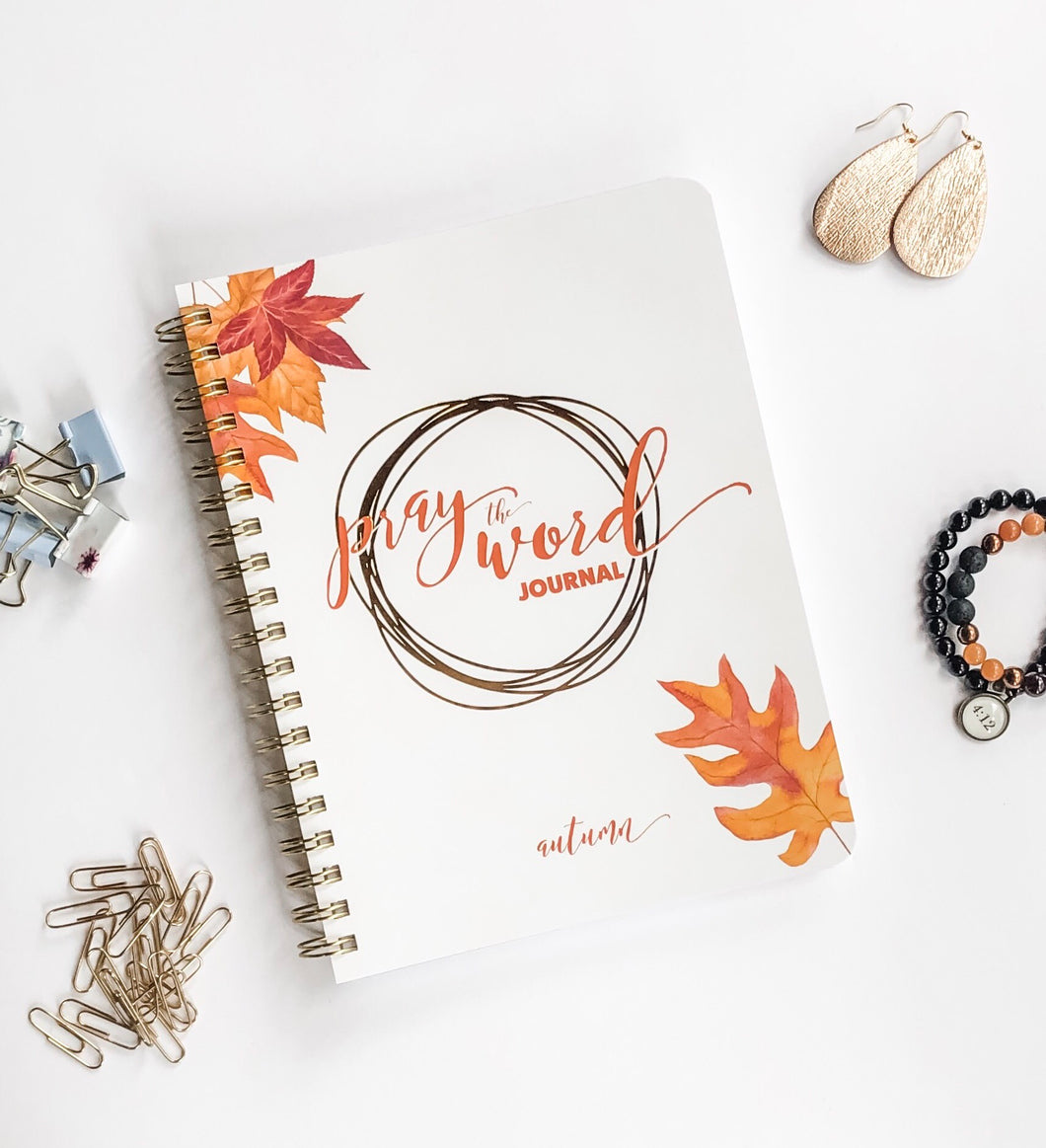 Pray the Word Journal: Autumn 2019