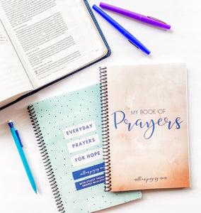 My Book of Prayers {Blank Prayer Journal}