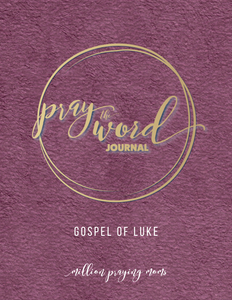 Pray the Word Journal: Gospel of Luke {DIGITAL DOWNLOAD}