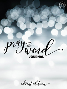Pray the Word Journal: Advent 2018 - Digital Download Only