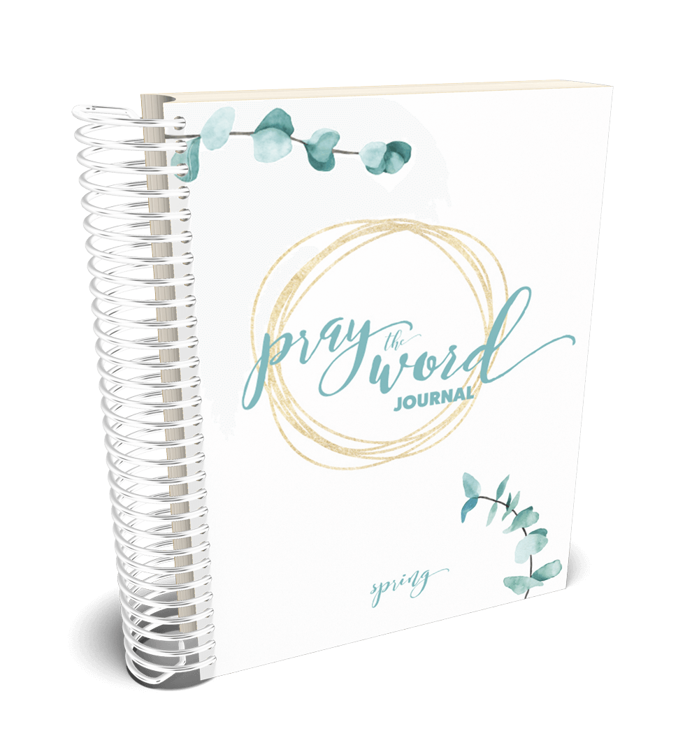 Pray the Word Journal: Spring 2019 Edition