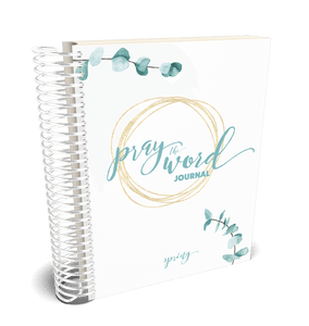 Pray the Word Journal: Daniel Edition - DIGITAL DOWNLOAD ONLY