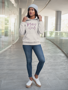Pray Strong French Terry Hoodie