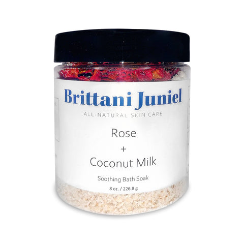 Rose + Coconut Milk Soothing Bath Soak