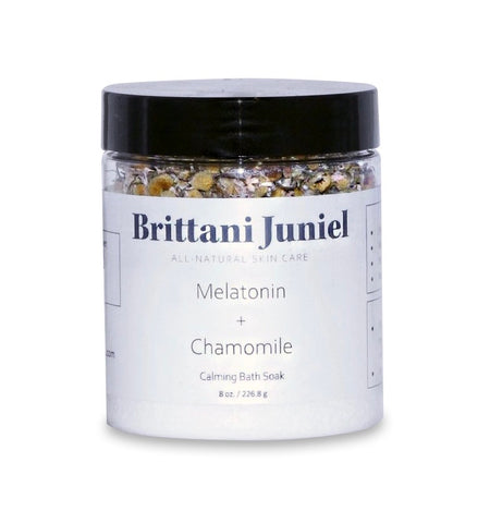 Melatonin + Chamomile Calming Bath Soak