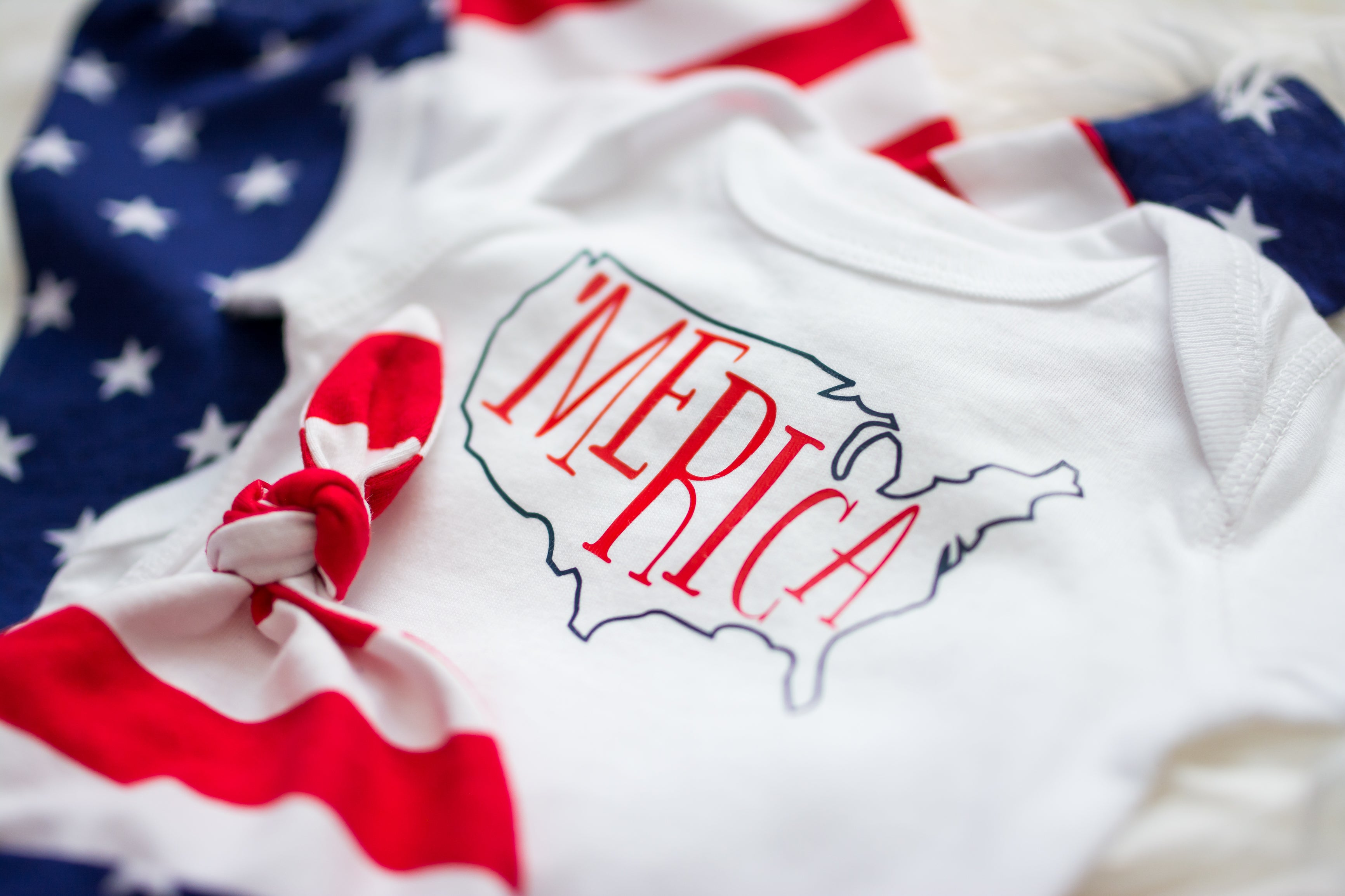 'Merica shirt for baby boy