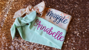maggie and annabelle top knot headbands