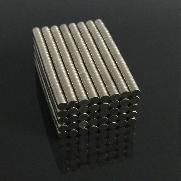 100pcs N50 Neodymium 3mm x 1.5mm Strong Magnets