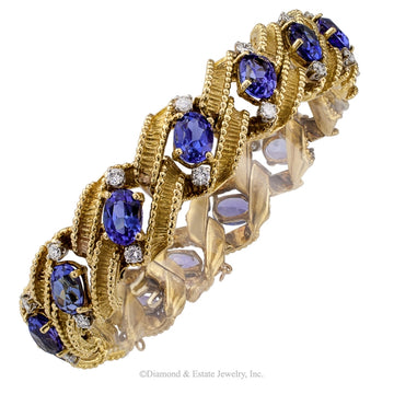 Antique Bracelets Made Of Gold Platinum Amp Diamond Jacob