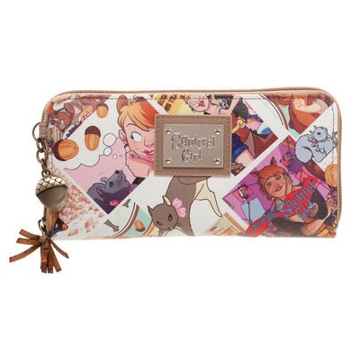 Squirrel Girl Wallet Great Marvel Gift for Girls - Marvel Comic Wallet - Marvel Wallet