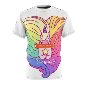 Unicorn Rainbow Lula Cut & Sew Tee