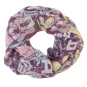 Marvel Pastel Tossed Heads Infinity Scarf