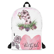 Tea Cup Pig Backpack (CUSTOMIZABLE)