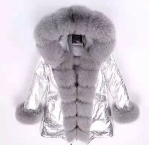 """FOXY"" Fox Fur Parka"