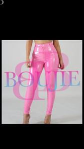 """Painted"" Latex Pants"