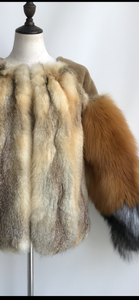 High Maintenance Fox & Shearling Coat