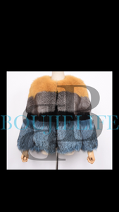 Triple threat- 100% FOX FUR JACKET
