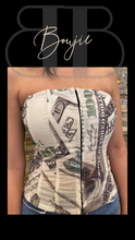 """Bag Talk"" Money Bustier"