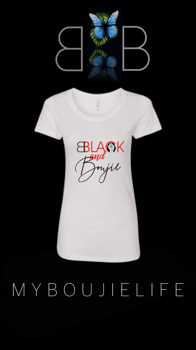 Black & Boujie Signature Tee