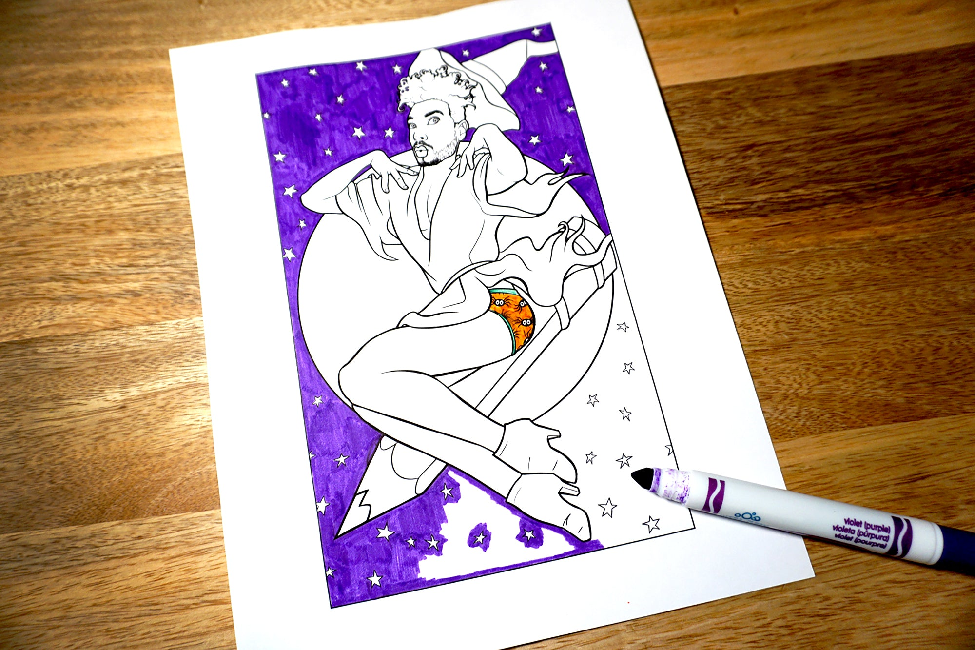Cheesecake Boys Coloring Book Digital PDF | Download 63 Pages of Printable Male Pin-Ups
