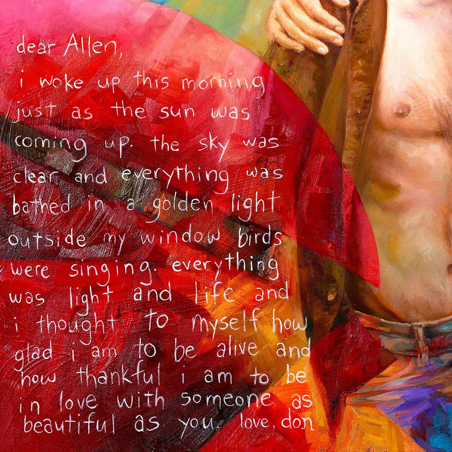 Dear Allen print - Paul Richmond Studio