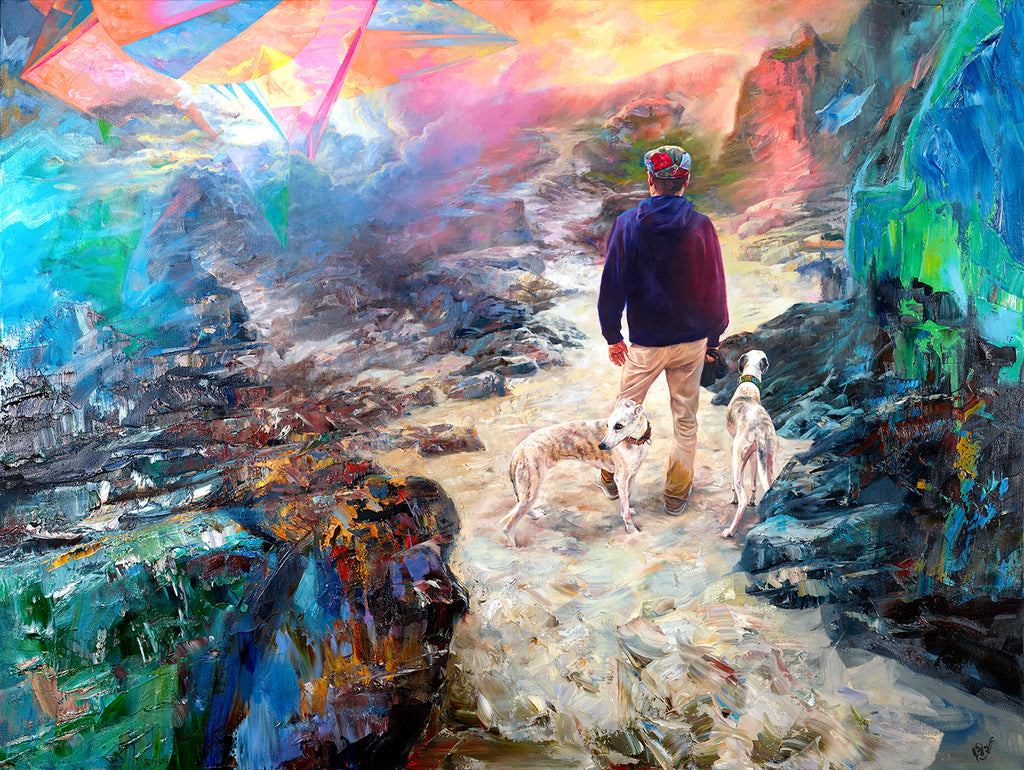 Long Way Together painting - Paul Richmond Studio