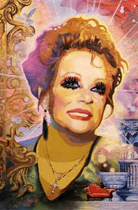Remembering Tammy Faye painting - Paul Richmond Studio