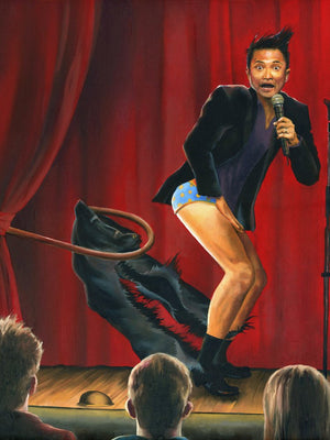 Rip Off, Starring Alec Mapa print - Paul Richmond Studio