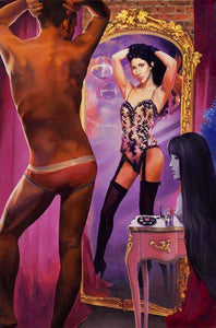 The Cher Within painting - Paul Richmond Studio