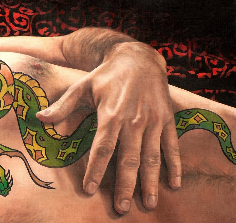 The Snake Charmer print - Paul Richmond Studio