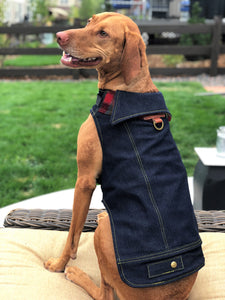 Boulder Denim Dog Jacket - 40% Off!