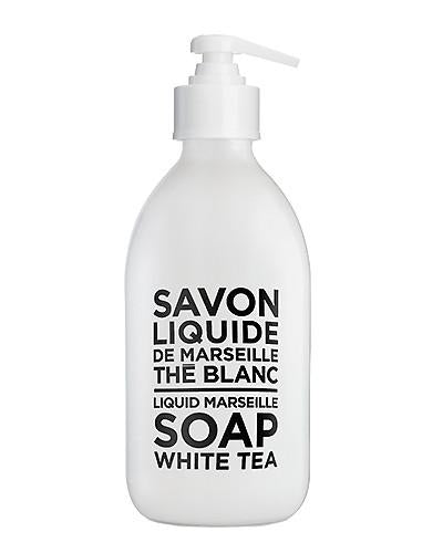 White Tea Liquid Marseille Soap 10 oz