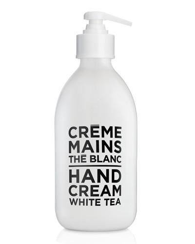 White Tea Hand Cream 10 oz - Glass Bottle