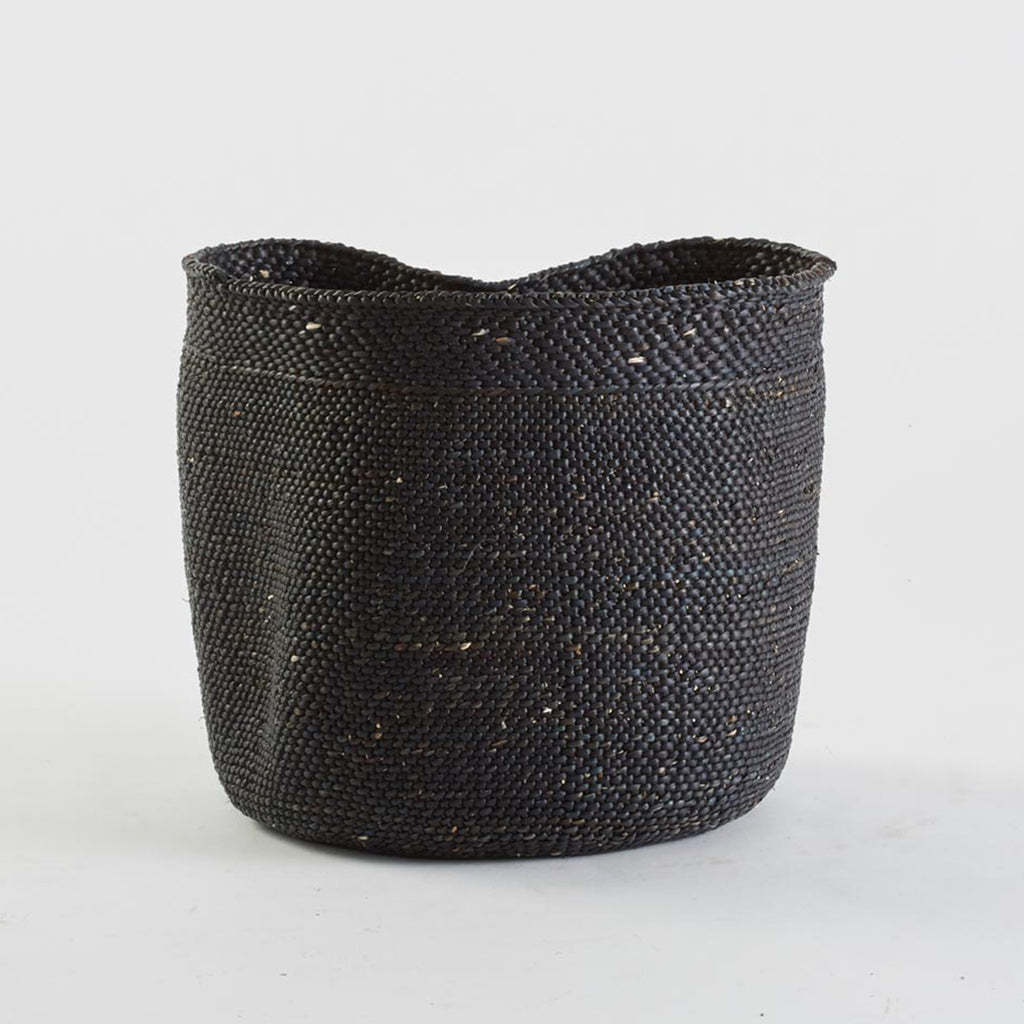 Black Woven Basket, Extra Large