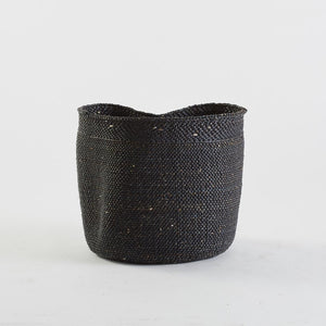 Black Woven Basket, Large