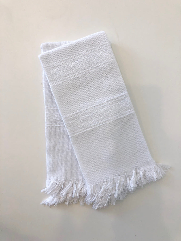 Hand Towels, White